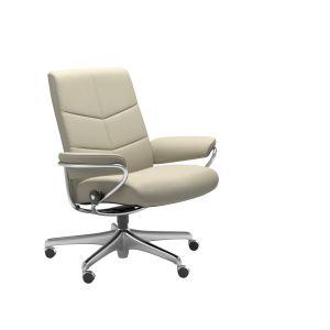 Dublin Home Office Sessel niedriger Rücken - Relaxsessel