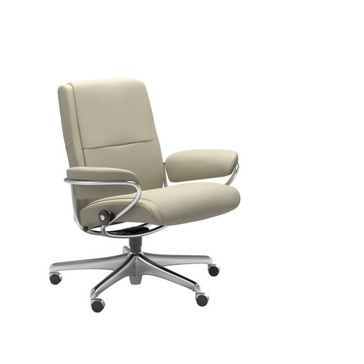 Stressless® Paris Office Lav ryg