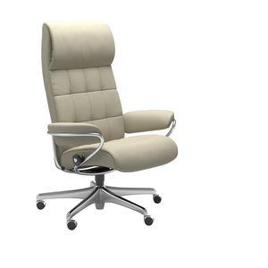 London Home Office Sessel hoher Rücken - Relaxsessel