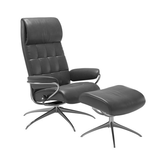 Stressless® London Star-Gestell hoher Rücken
