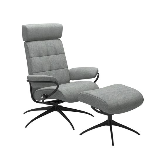 Stressless® London Star-Gestell verstellbare Kopfstütze