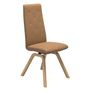 Rosemary ruokapöydän tuoli, korkea selkänoja, D200-jalka - Tuotteet