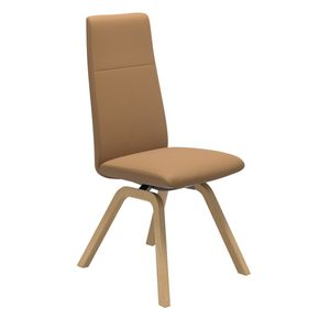 Chilli ruokapöydän tuoli, korkea selkänoja, D200-jalka - Dining