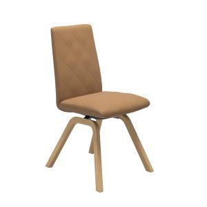 Mango ruokapöydän tuoli, matala selkänoja, D200-jalka - Tuotteet