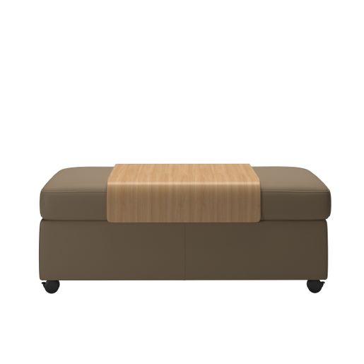 Stressless® Double Ottoman with table
